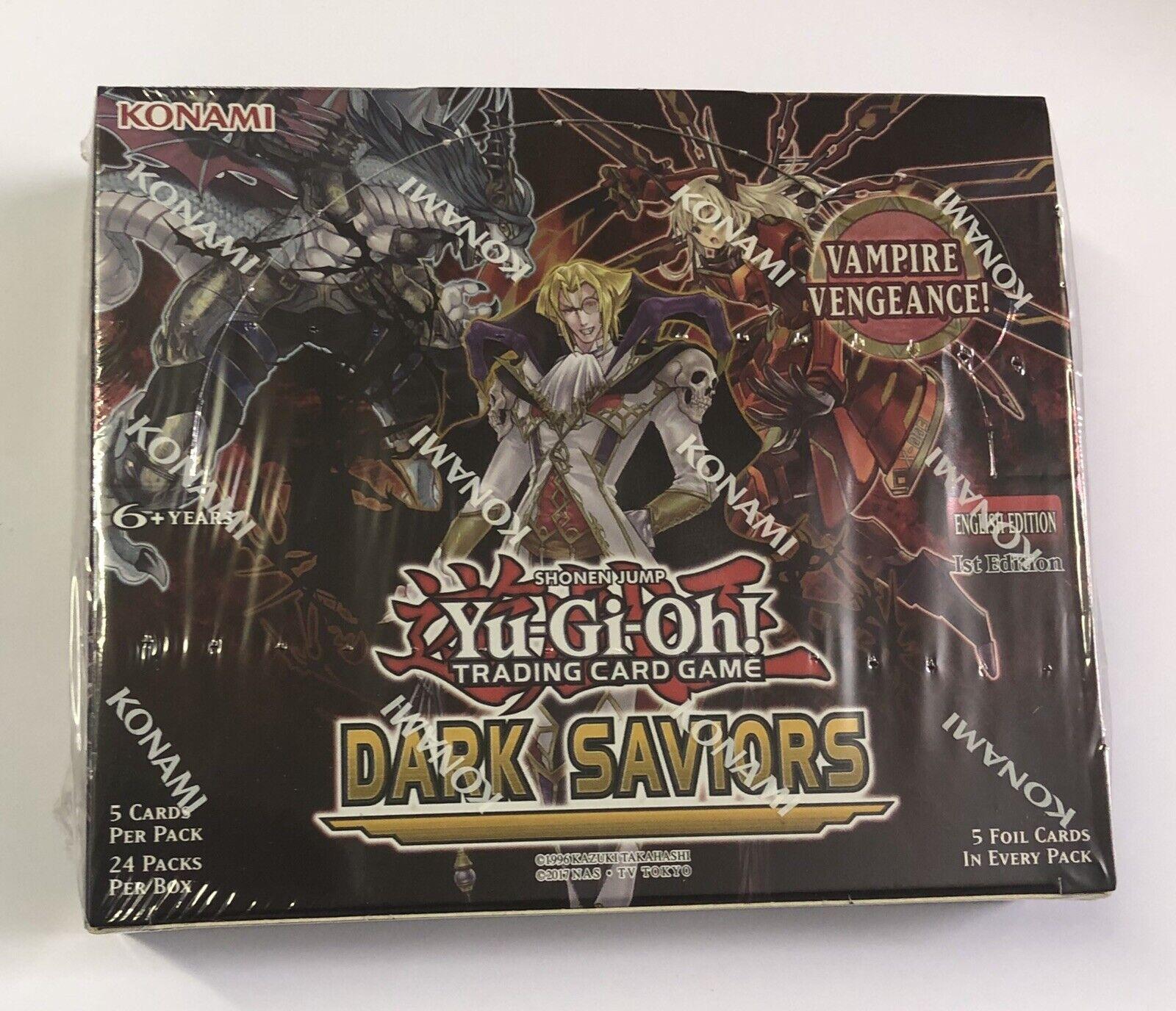 Yu-Gi-Oh  Dark Saviors Booster Box 1st Edition Sealed