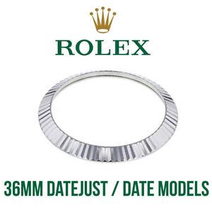 Rolex-lunetta-scanalata-36mm-acciaio-inox-per-Datejust-alta-qualita-SWISS-MADE