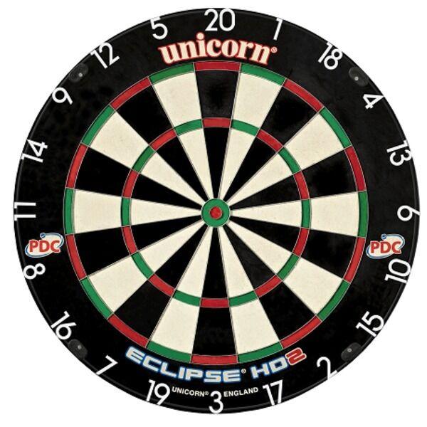 Unicorn Eclipse HD 2 Meisterschaft Qualität Pdc Dartscheibe - aus der Tv-Werbung