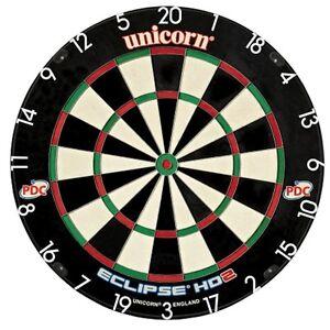 Brand-New-Unicorn-Eclipse-HD-2-TV-Edition-Bristle-Board-PDC-Endorsed-Dartboard