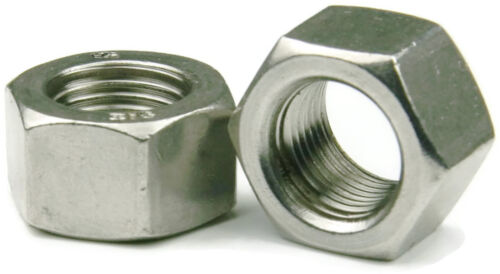 Qty 100 316 Stainless Steel Finished Hex Nut UNC 1//4-20