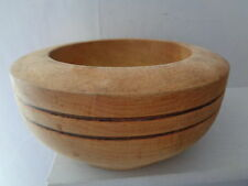 Rustic Large Vintage Style French Wooden Mortar Bowl Shabby Chic