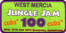 Boy Scout Badge 2016 CUBS 100 West Mercia at JUNGLE JAM
