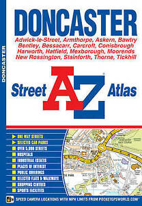 Doncaster-Street-Atlas-by-Geographers-039-A-Z-Map-Company-Paperback-2008