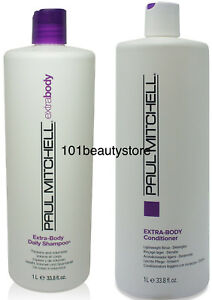 PAUL-MITCHELL-Extra-Body-Shampoo-amp-Conditioner-33-8-oz-Duo-Free-Same-Day-Ship
