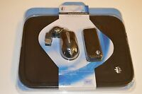 I-concepts Travel Kit W/retractable Mouse,mobile 4-port Usb Hub,neoprene Sleeve