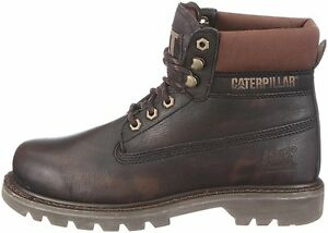 CAT-Caterpillar-Colorado-non-securite-Homme-Cheville-Work-Boots-Blackout-UK6