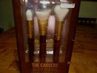 The Cream Shop Carvers Contour Collection Eye/face Make Up Brush Kit