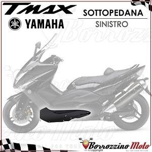 SCOCCA-FIANCHETTO-SOTTOPEDANA-SINISTRO-NERO-METALLAZZATO-YAMAHA-T-MAX-500-2009