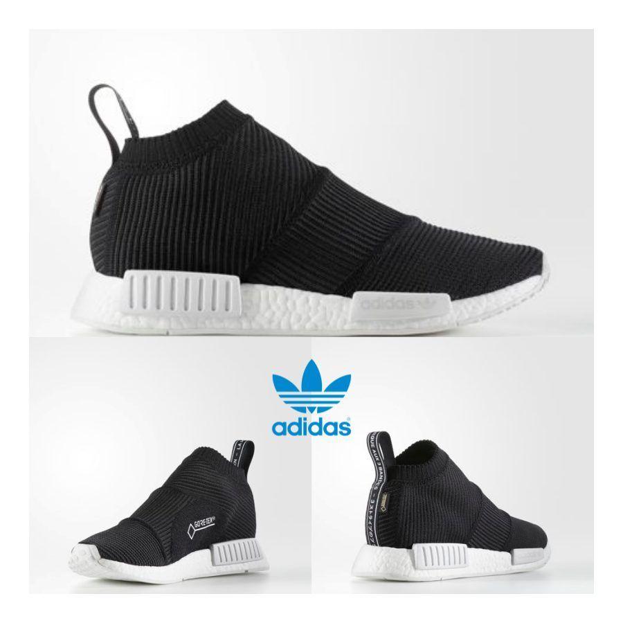 21225ca3a81b Adidas Original NMD PK City Sock Gore Tex Boost Shoes Black BY9405 ...