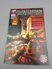 Transformers Micromasters #3 2004 DW Dreamwave Comic