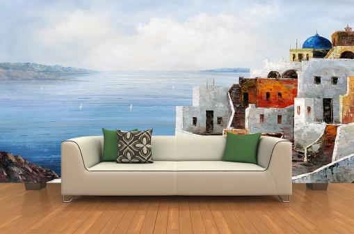 3D Scenery Beach  854 Wall Paper Murals Wall Print Wall Wallpaper Mural AU Kyra