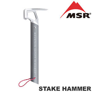 Image is loading MSR-Stake-Hammer-Mallet-Motorcycle-Adventure-C&ing-Tent-  sc 1 st  eBay & MSR Stake Hammer Mallet Motorcycle Adventure Camping Tent Peg ...
