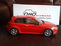 Otto Mobile Models Alfa Romeo 147 Gta 3.2 V6 Resin Model Rosso Red 1/18