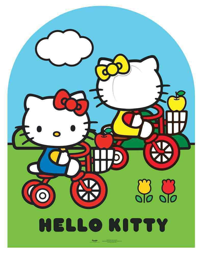 Hello Kitty & Mimmy Kindergröße Karton Stand Ausschnitt Aufsteller Aufsteller Aufsteller Party | Viele Sorten  | Lassen Sie unsere Produkte in die Welt gehen  53ca24