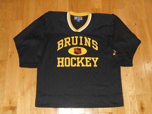 Vintage 90 s Starter BOSTON BRUINS Youth NHL Team Replica Hockey ... bac6be883