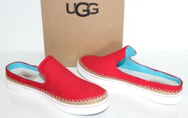 3212816d371 UGG Womens 1010102 Caleel Nubuck Leather Slide on Sneaker Loafers Shoes US 8