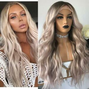Full-Lace-Human-Hair-Wigs-Grey-Blonde-100-Real-Lace-Front-Wigs-with-Baby-Hair