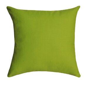 Solid Green Pillow, Chartreuse Green Cotton Pillow, Solid Green Throw Pillow eBay