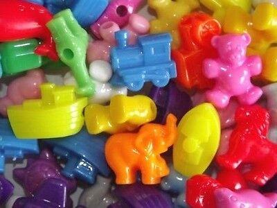 Pony Beads Novelty in 10/25/50/100