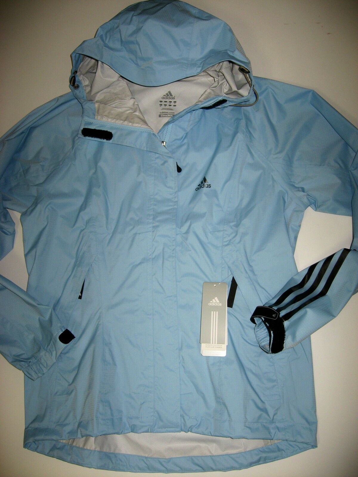 Adidas e13530 ya que-lluvia chaqueta impermeable transpirable min. packmass traillite