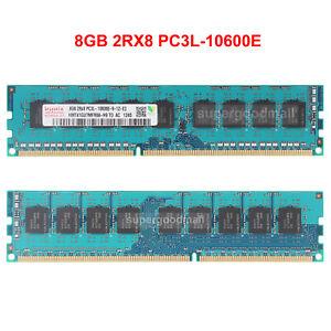 For-Hynix-8GB-2Rx8-PC3L-10600E-DDR3-1333Mhz-240Pin-ECC-UDIMM-Server-Memory-RAM