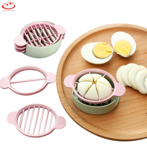 Multifunction Egg Cutter Split Device Food Tomato Divider Slicer Egg Slicer Tool