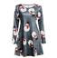 Plus-Size-Womens-Christmas-Mini-Swing-Dress-Xmas-Party-Long-Tops-T-Shirt-AU-5XL thumbnail 13