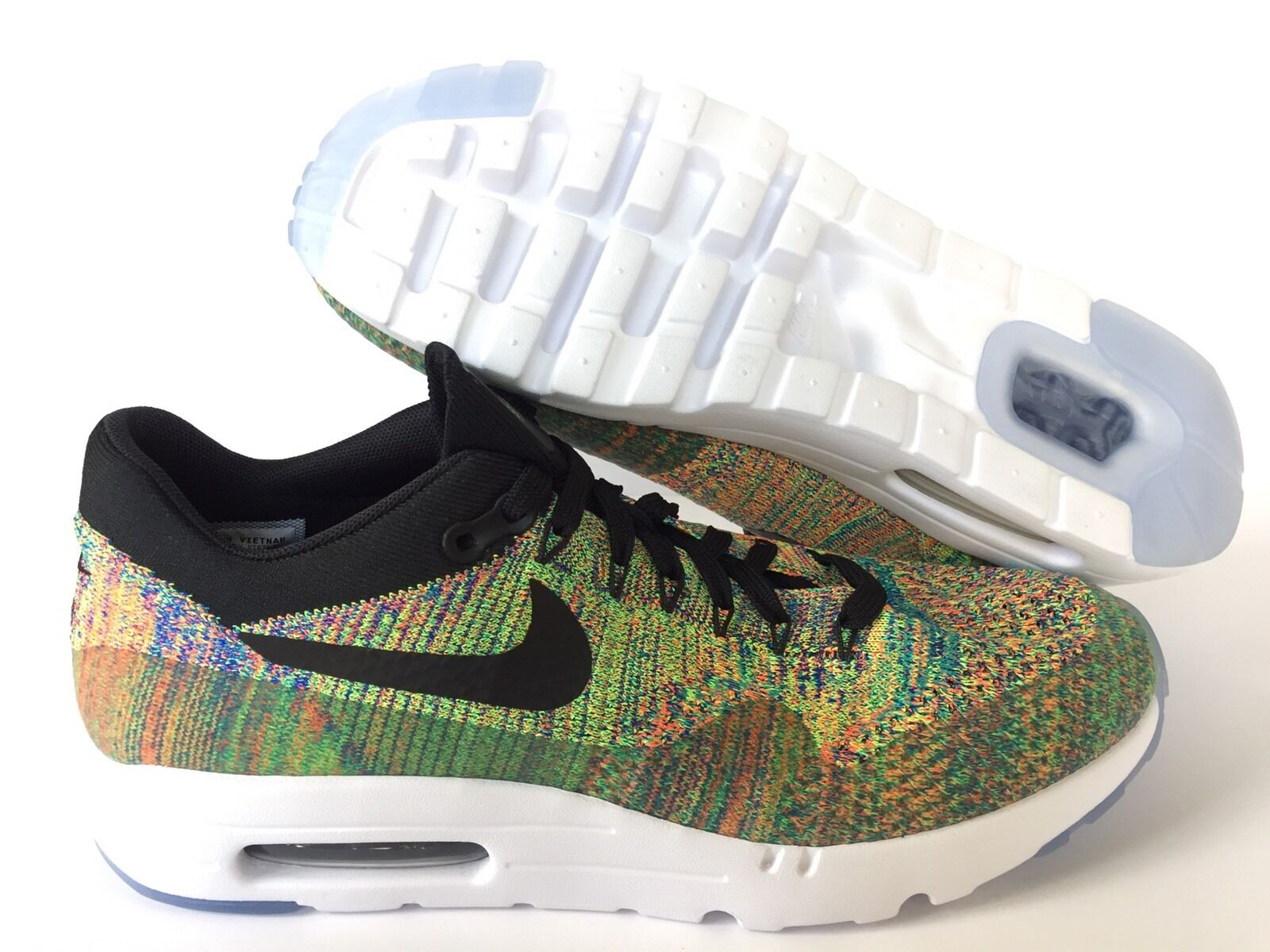 NIKEiD AIR MAX FLIKNIT NEUF Noir MultiCouleure  US Taille 10.5