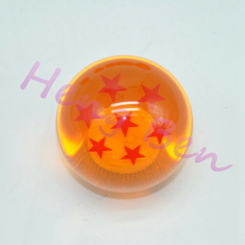 Universal Yellow PU Dragon Ball Gear Shift Knob 54mm Diameter 4 Stars