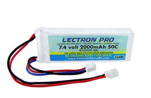 Comun-Sense-7-4-V-2000-mAh-50-C-bateria-Lipo-Lectron-Pro-con-Conector-Mini