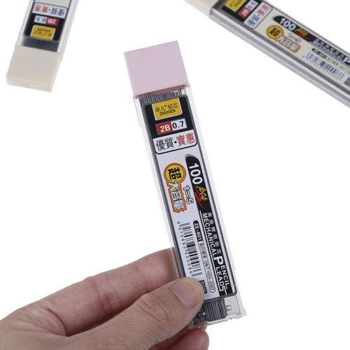 100Pcs//box graphite lead 2b mechanical pencil refill pencil l vi