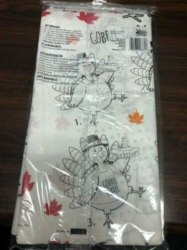 Thanksgiving Paper Activity Table Cover NEW!