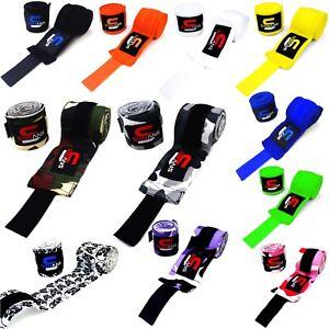 SAWANS-Bandages-Hand-Wraps-MMA-Boxing-Inner-Gloves-Mitt-Protector-MuayThai-Kick