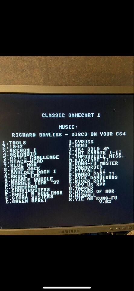 Commodore , tilbehør