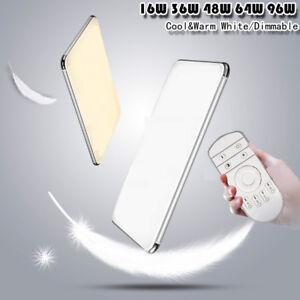 Dimmable LED Ceiling Light Ultra Thin Flush Mount Kitchen Lamp Home - Dimmable led kitchen ceiling lights