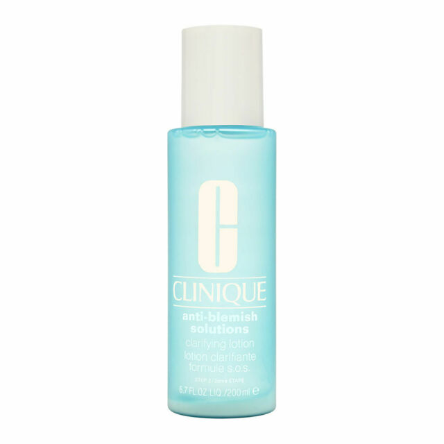 Clinique Anti-Blemish Solutions Clarifying Lotion 200ml/6.7oz Brand New