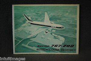 boeing 767 200 reference guide dated june 1982 ebay rh ebay ie boeing 777 quick reference guide boeing 777 quick reference guide