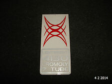 AUTHENTIC NOS RALEIGH LIGHTWEIGHT4130 CROMOLY BIKE FRAME STICKER #11 DECAL