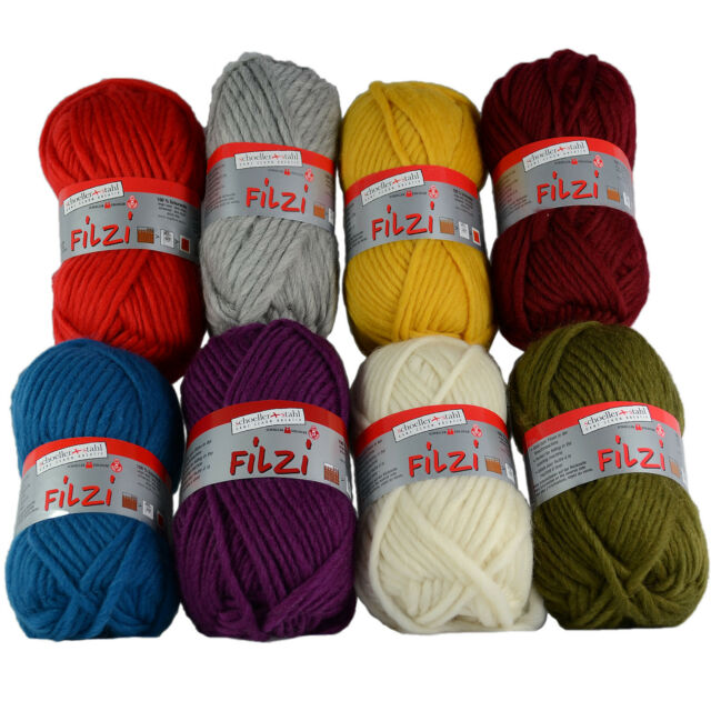 Schoeller Wool Stahl Fortissima Color 4ply 100g Knitting Yarn 2402