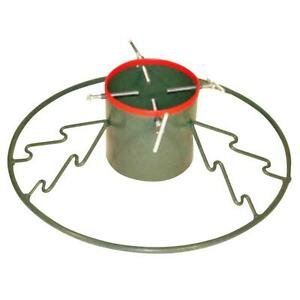 Holiday Round Metal Live Christmas Tree Stand Holds Up ...