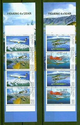 Island 2009 - Flugzeuge - Doppeldecker - Wasserflugzeug - Fokker - 1235-38 Cto Klar Und Unverwechselbar