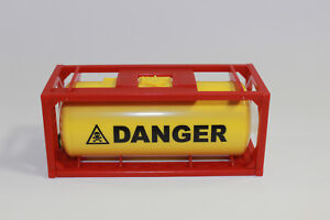 1x Container Tankcontainer Danger Stapelbar 1:50 Neu 3922 Modellbau