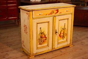 Credenza-2-ante-in-legno-laccato-mobile-stile-antico-vintage-antiquariato-900
