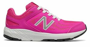 New-Balance-Kid-039-s-519-Big-Kids-Female-Shoes-Pink-with-White