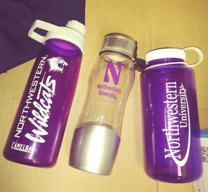 more photos best choice classic style Details about 3 Northwestern Univ. New Camelbak Chute Mag cap and Nalgene  water bottles purple