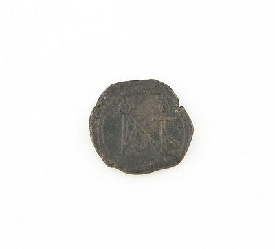 Fettiges Essen Zu Verdauen Byzantinische Münzen Schlussverkauf 565-578 East Roman Byzantinisch Ae Pentanummium Münze Xf Justin Ii Theoupolis S Um Zu Helfen