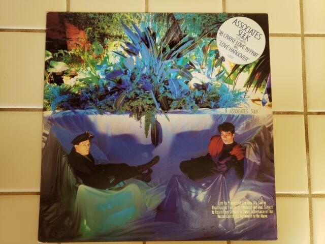 The Associates Sulk 1st UK Press Vinyl LP Associates