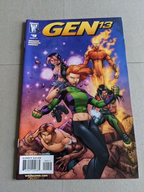Gen 13 #9 August 2007 DC Wildstorm Comics