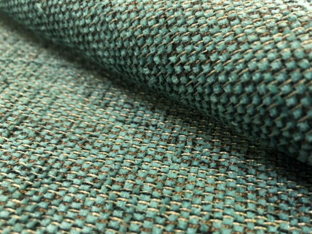 Best Tweed Fabric For Mid Century Modern Vintage Danish Upholstery Bright Blue